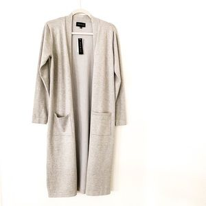 NWT Premise Open Front Long Cardigan